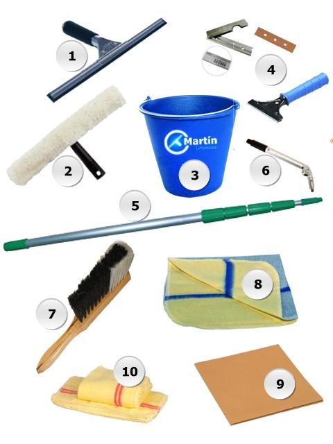 Flejadora manual para fleje de acero - Herramientas para limpiar cristales ...